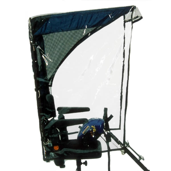 sc 1 st  Medical-Supplies-4-Less & WeatherBreaker Canopy - Max Protection   Wheelchair Canopies