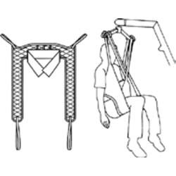 Hoyer ADVANCE Portable Patient Lift - Hydraulic