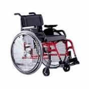 Quickie GP Swing-Away Ultralight Wheelchair