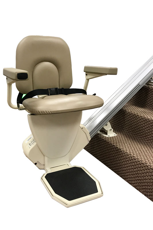 AmeriGlide Rave Stair Lift - Factory Reconditioned